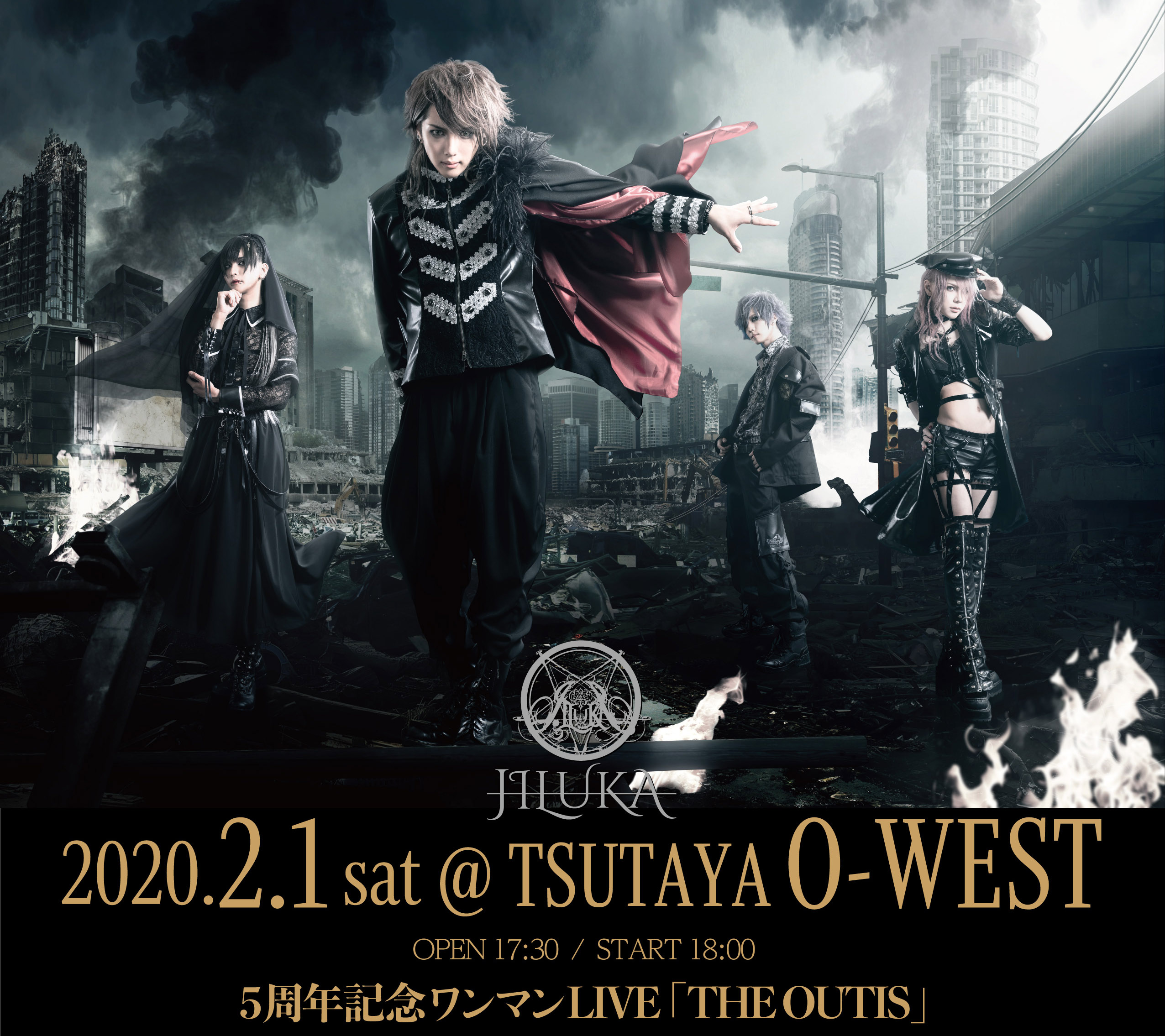 渋谷●O-WEST(5周年ワンマン)