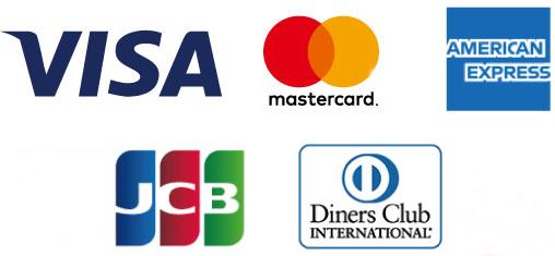 card使用可能カード5種
